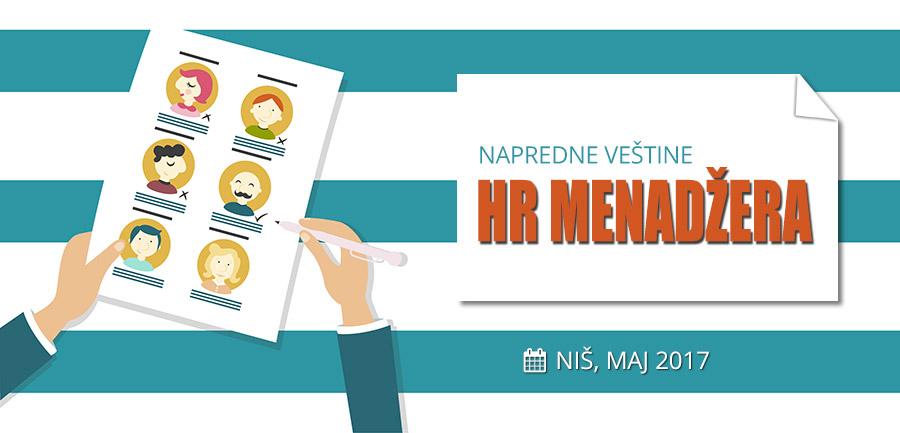 [NAJAVA] – Napredne veštine HR menadžera (Niš, MAJ 2017)
