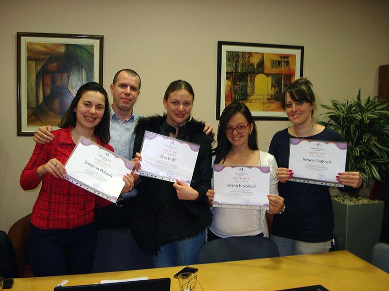 Uspešno održana aprilska osnovna obuka za HR saradnike