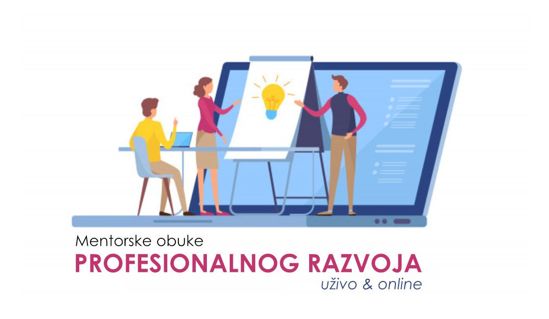 Mentorske obuke profesionalnog razvoja direktno i preko skajpa