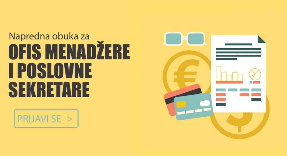 [NAJAVA] – Napredne veštine Office menadžera, Beograd