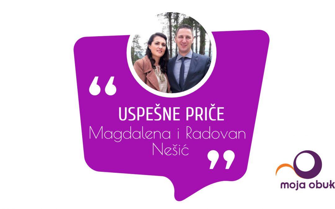 Uspešne priče – Magdalena i Radovan Nešić